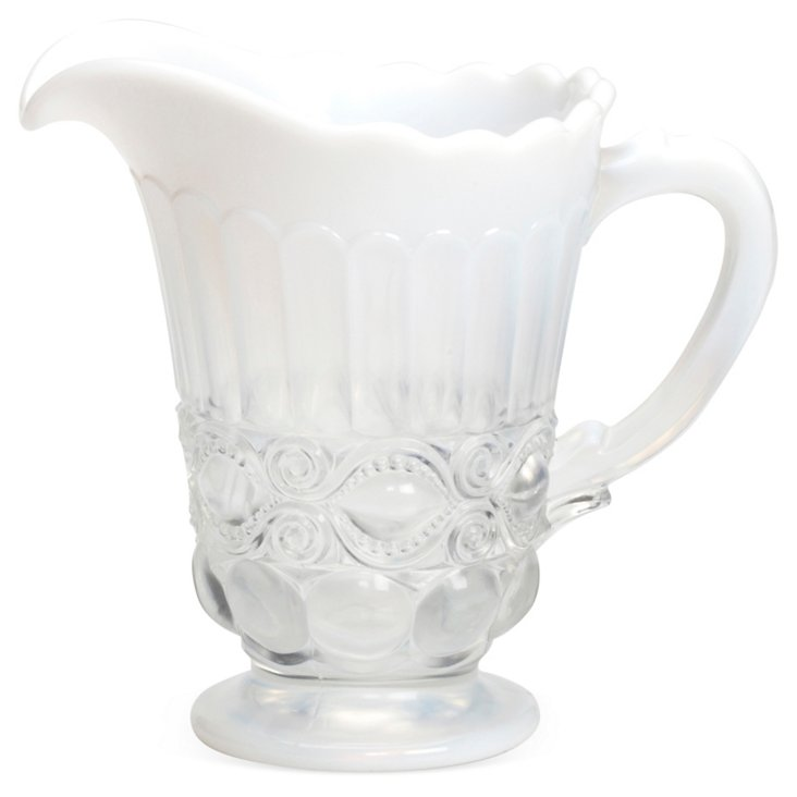 Milk-Glass Pitcher