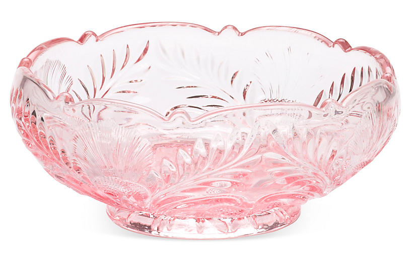 Inverted Thistle Bowl, Rose
