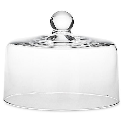 Blown Glass Cake Dome