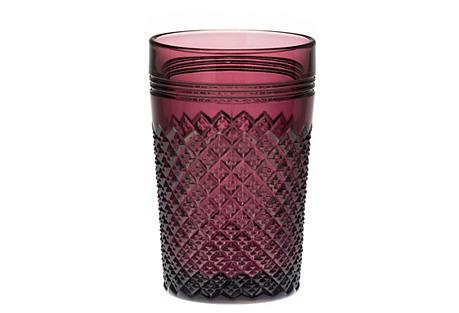 S/4 Addison Glasses, Purple