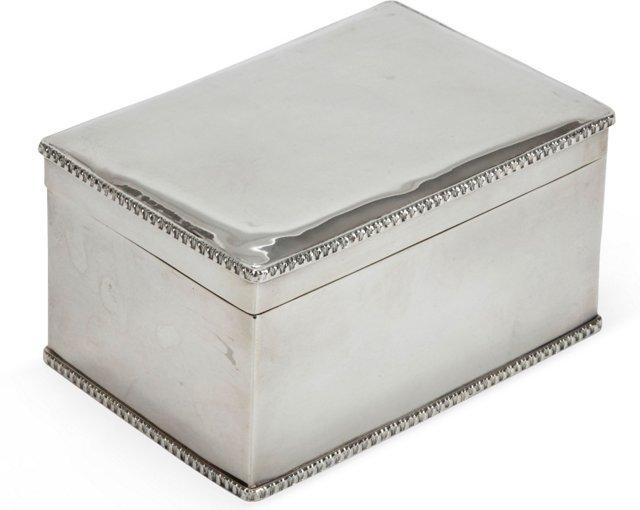 Sheffield Biscuit Box