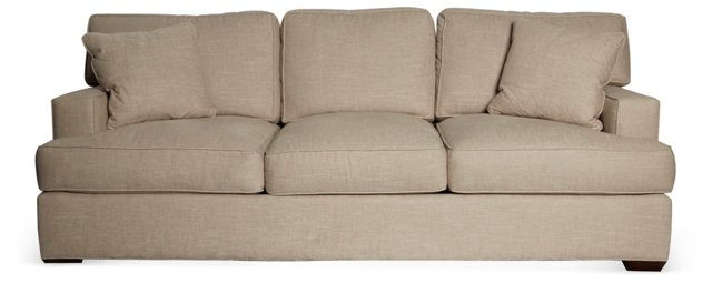 Frank-Style Linen Sofa