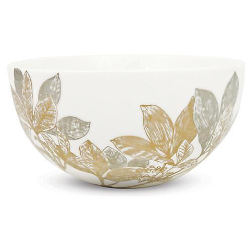 """Arbor Gold/Platinum Bowl, 4"""""""