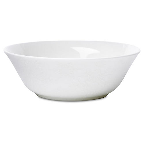 Winter White Cereal Bowl