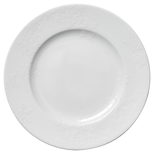 Winter White Dinner Plate, 10.75""