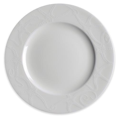 Starfish Salad Plate, White