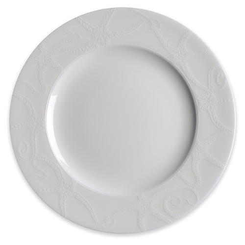 Starfish Salad Plate, White