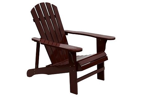 Adirondack Chair, Brown