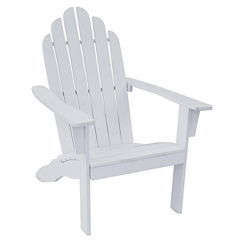 Adirondack Outdoor Chair, White