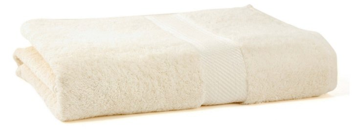 Rhapsody Royale Bath Sheet, Oyster