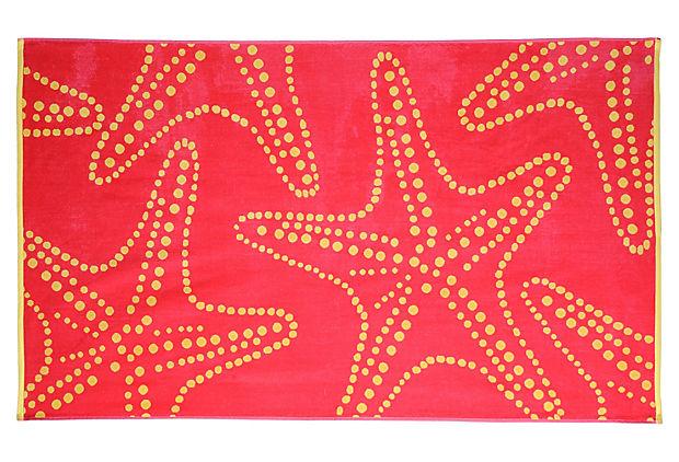Large Starfish Beach Towel