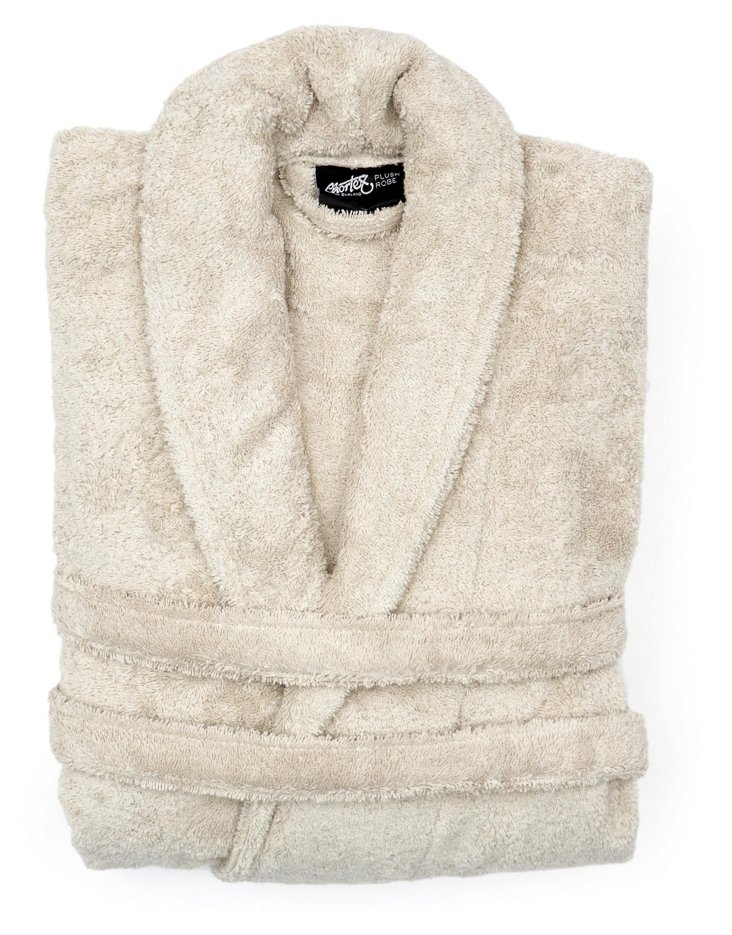 Plush Robe, Stone