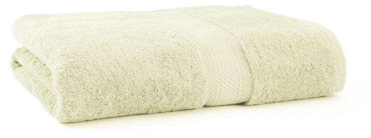 Rhapsody Royale Bath Sheet, Mint