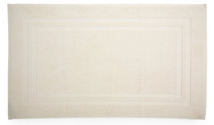 Irvington Bath Mat, Cream