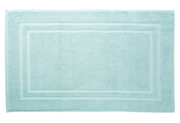 Irvington Bath Mat, Mineral Blue