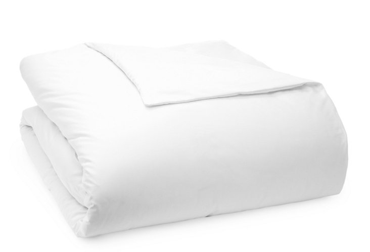 400TC Duvet Cover, White