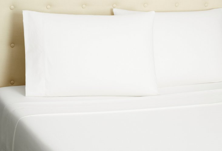 Percale Sheet Set, White