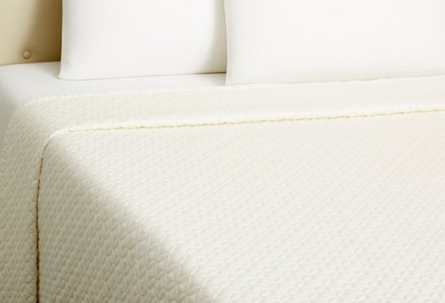 Meridian Quilted Coverlet, Ivory