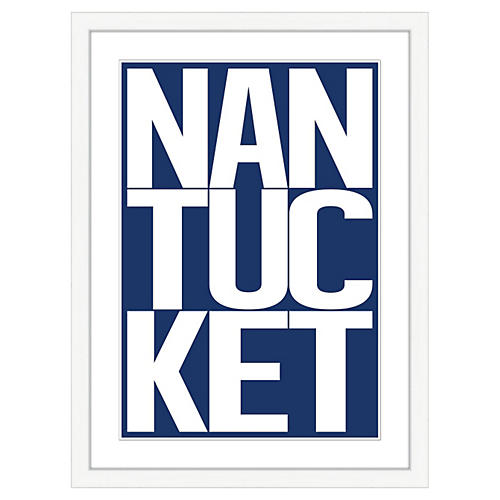 Nantucket In Navy