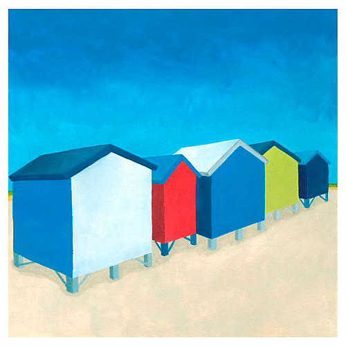 Melissa Van Hise, Beach Retreat I