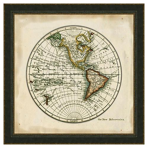 Melissa Van Hise, World Map I