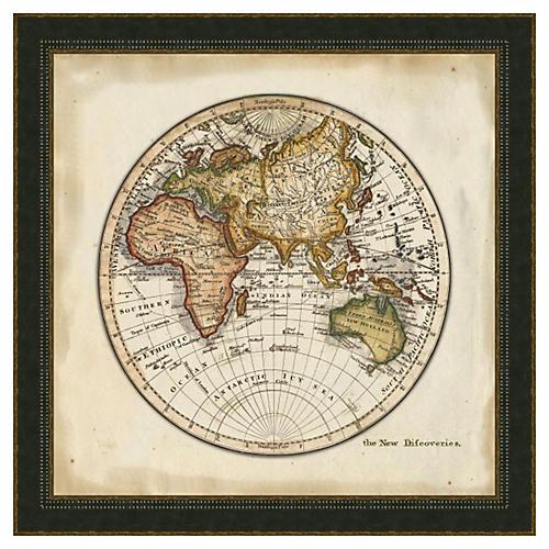 Melissa Van Hise, World Map II
