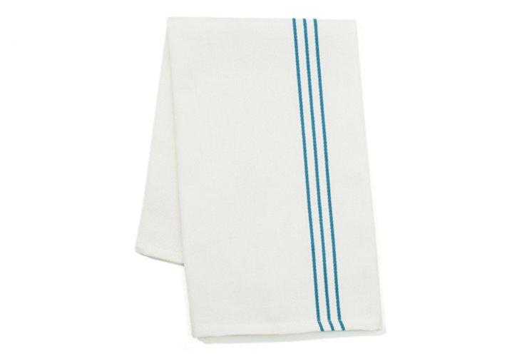 S/ 2 Woven Kitchen Towels, Blue