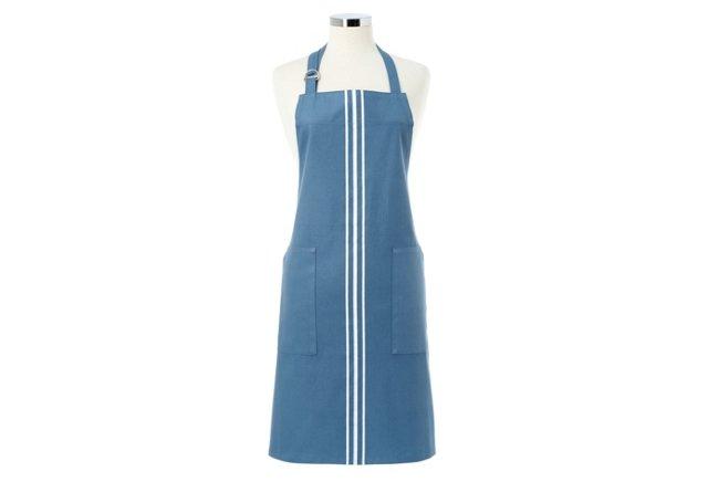 Cotton Apron, Blue