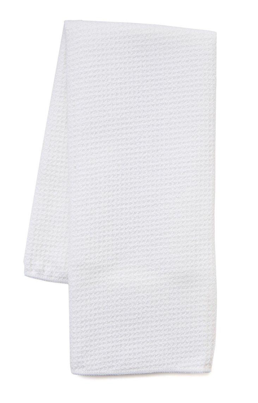 S/3 Microfiber Towels, White