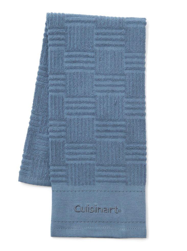 S/3 Kitchen Towels, Blue