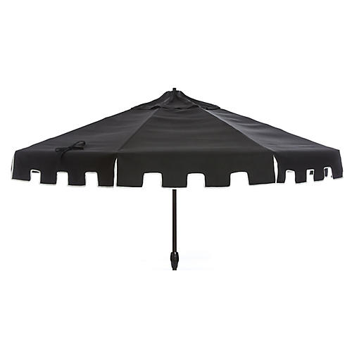 Nina Patio Umbrella, Black