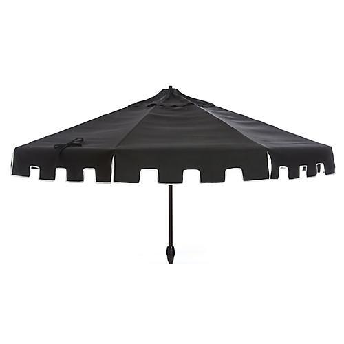 Nina Patio Umbrella, Black