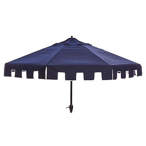 Nina Patio Umbrella, Navy