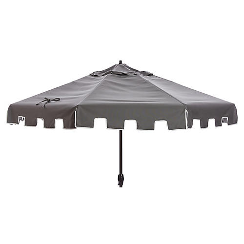 Nina Patio Umbrella, Charcoal