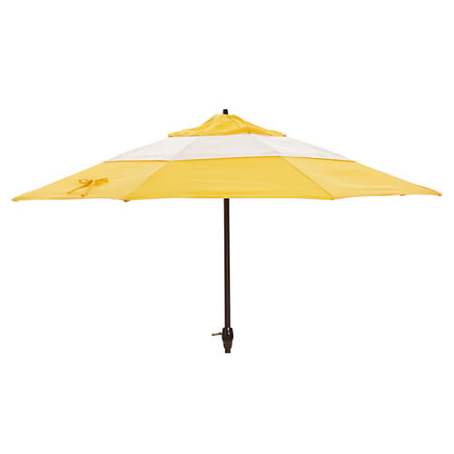 Meaghan Patio Umbrella, Yellow