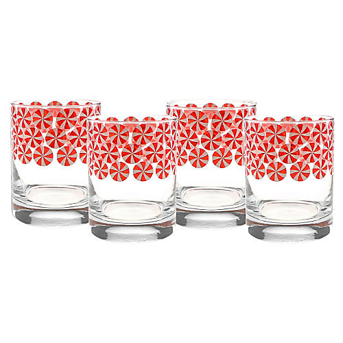 S/4 Red Peppermint DOF Glasses