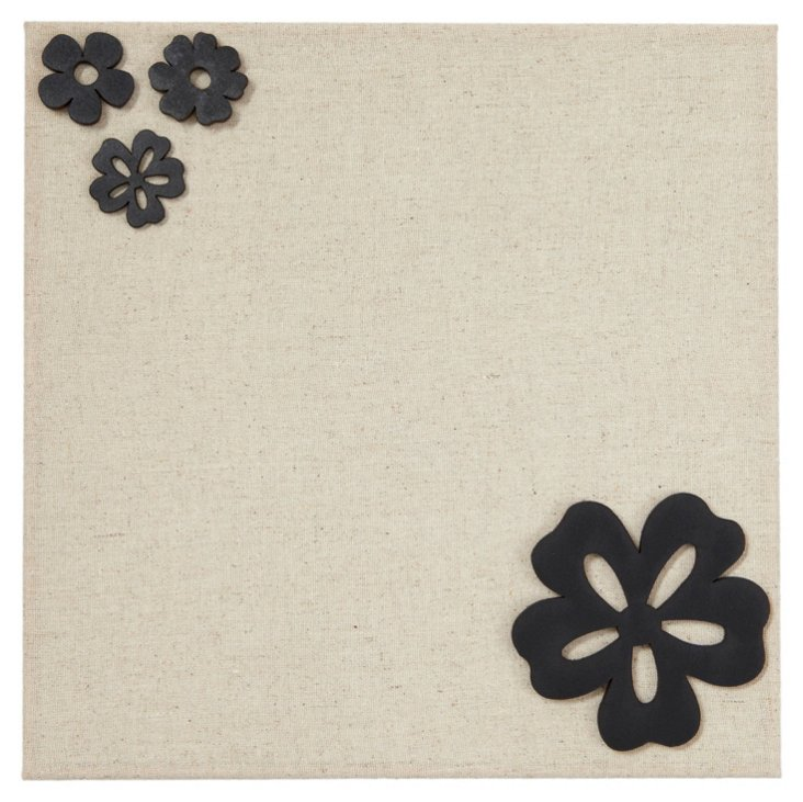 Fabric Magnetic Board, Flower