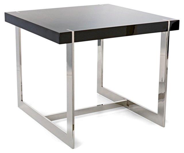Lynn Side Table, Black