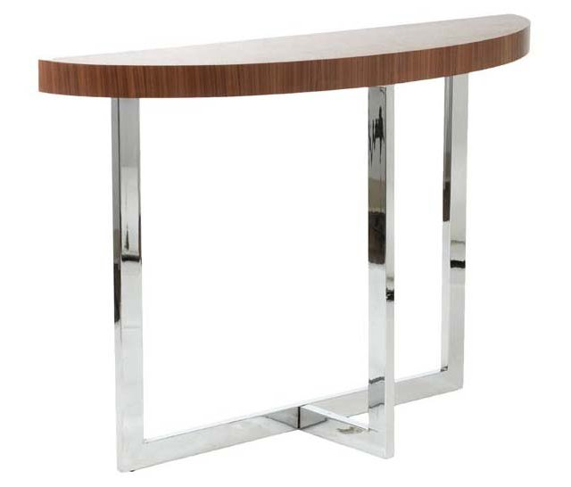 """Oliver 32"""" Console Table, Walnut"""