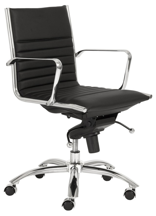 Cami Low Back Office Chair, Black