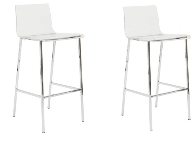 Blondo Stools, Pair