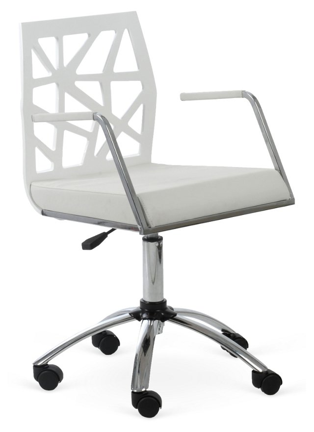 Sophie Office Chair, White