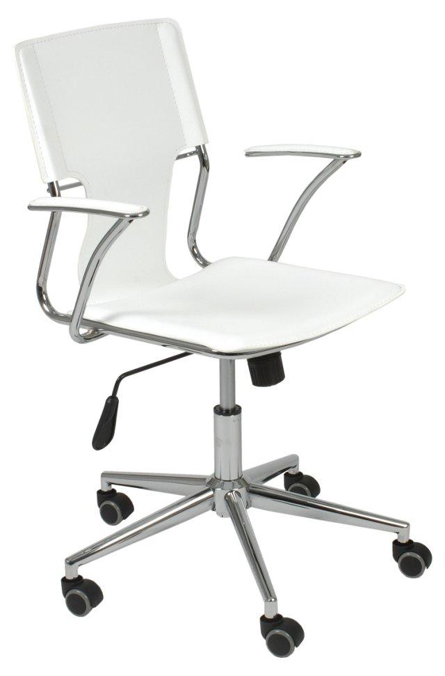 Tara Office Chair, White