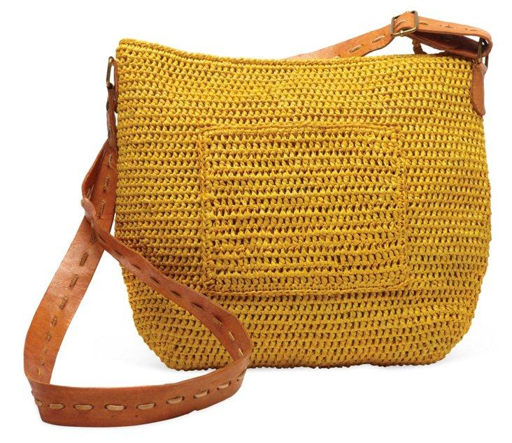 Sydney Cross-Body Bag, Sunflower