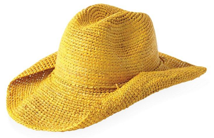 Rose Cowboy Hat, Sunflower