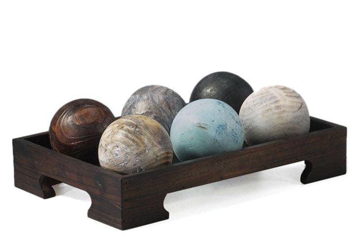 Ball Objets in Tray