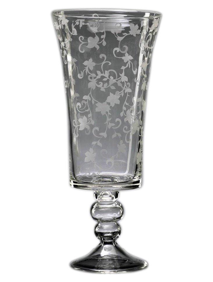 Delicate Floral Vase