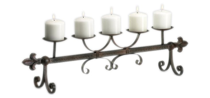 Old World Candleholder