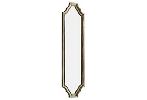 Malvin Mirror, Silver Oxide*