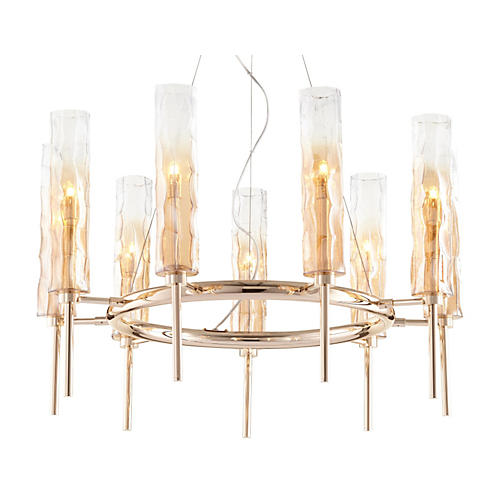 Balanchine Chandelier, Satin Gold